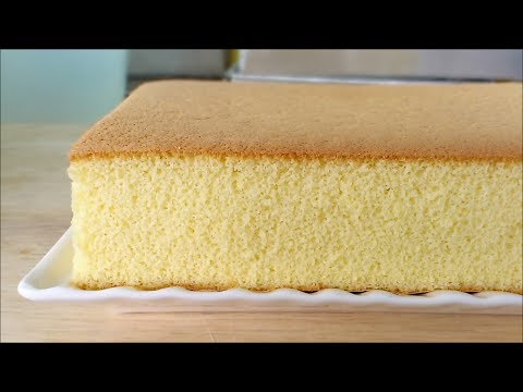 Video Honey Castella (Kasutera)Cake (蜂蜜蛋糕) **
