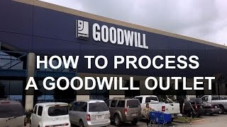 First Person Sourcing: Goodwill Outlet | How to Process a Weigh and Pay Store