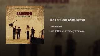 Too Far Gone (2004 Demo)