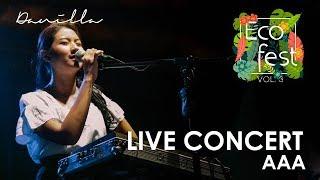 DANILLA   AAA : ECOFEST VOL.3 [ LIVE CONCERT ]