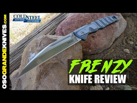 Cold Steel Frenzy Mega Folding Knife Review | OsoGrandeKnives