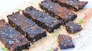 Carob Cosmos Energy Bars - Gluten-free, Vegan, No Refined Sugar