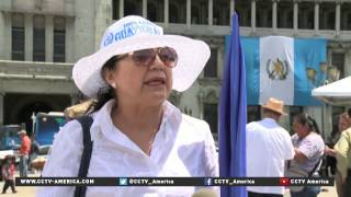 The president of Guatemala has resigned