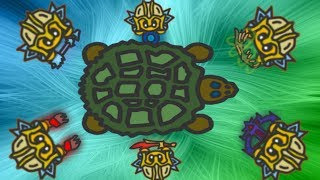 Fightz.io SOLOING TURTLE WITH ALL WEAPONS (very Hard)