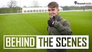 Suarez scores screamer in first session, plus snowball fight! | Behind the scenes at training