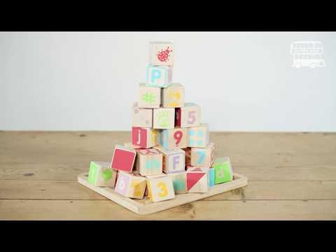 Le Toy Van ABC Wooden Blocks