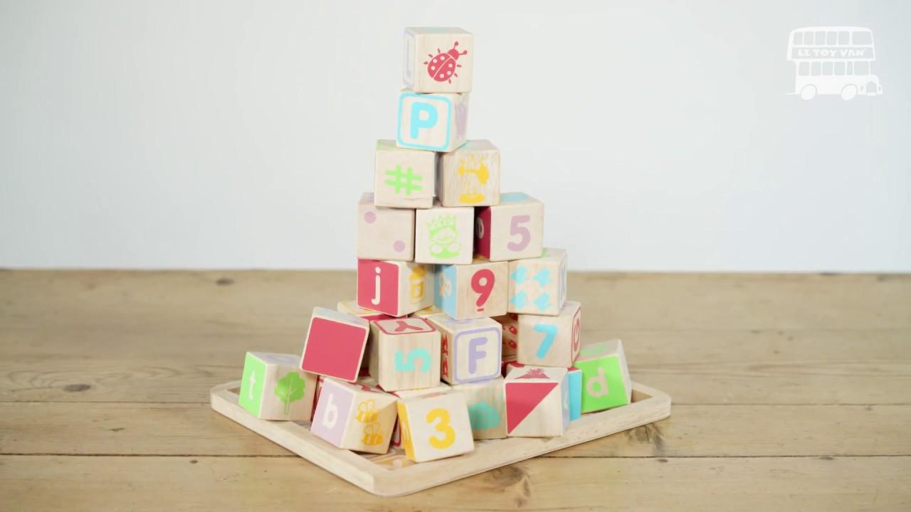 Le Toy Van Petilou ABC Wooden Blocks