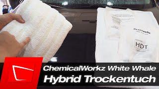 Trockentuch mit Faser-Mix - ChemicalWorkz White Whale Hybrid Towel Trockentuch im Trockentest
