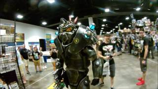 Fallout Cosplay: Enclave Soldier Invades TAMPA COMIC-CON 2017