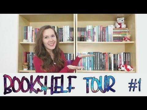 VEDA #1 | Bookshelf Tour (parte 1) | Leituras de Deni