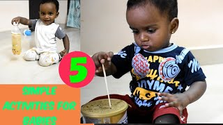Best DIY Activities For 1 Year Old Babies/easy & Fun Sensory Activities/baby Play Ideas/tamil