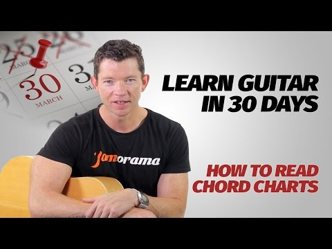 How To Read Chord Charts | Learn Guitar In 30 Days | Week 1 - Lesson 8