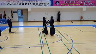 2019경찰청장기일반인검도대회 남자 3.4위전