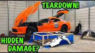 "Rebuilding A Wrecked 2014 Dodge Viper TA ""TIME ATTACK"" PART 3"