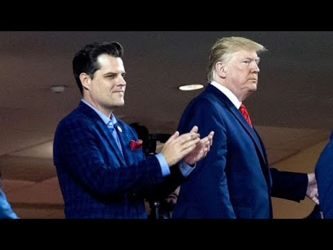 Matt Gaetz Asked For BLANKET PARDON From Trump For Sexual Misconduct Charges!