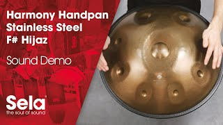 Handpan F# Hijaz Stainless Steel