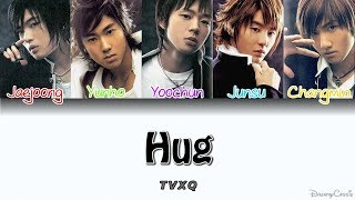 TVXQ (동방신기) - Hug [Colour Coded Lyrics] (Han/Rom/Eng)