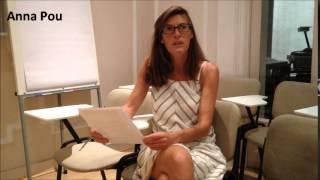 Anna Pou comenta el curs de Cetres