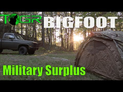 Backroads - Military Surplus Overnight Adventure - (Bigfoot ???)