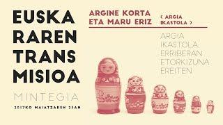 """Argiñe Korta eta Maru Eriz: """"Argia ikastola: Erriberan etorkizuna ereiten"""""""