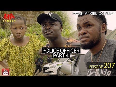 POLICE OFFICER part 4 (Mark Angel Comedy) (Episode 207)