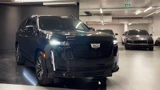 2021 Cadillac Escalade Sport - Walkaround in 4k