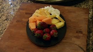 Cubed Cheese & Sliced Fruit Platters : Avocados & Snack Recipes