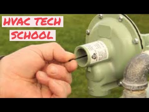 HVAC TECH School: Gas Pressure Regulators Made Easy