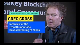 TransHumanCode.COM Davos 2018 Gathering of Minds Interview with GREG CROSS