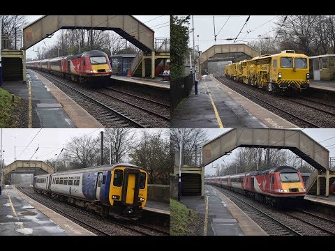 60 minutes at Cramlington Station featuring Tampers, HSTs an…