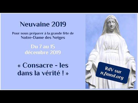 Neuvaine du 7 au 15 décembre 2019 - 10 décembre 2019