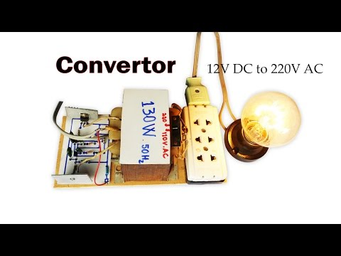 How to Create Easy Converter Circuit DC 12V to 110V AC and 220V AC