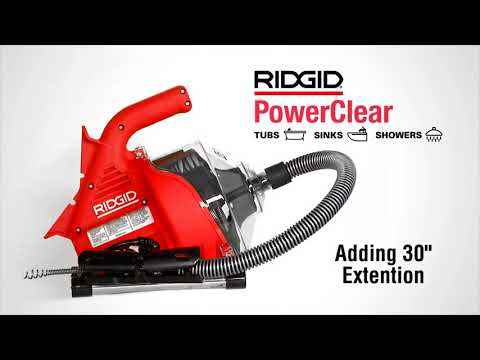 RIDGID Power Clear Setup & Operation Video