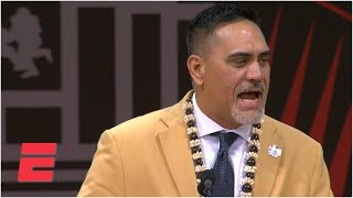 Jets legend Kevin Mawae enshrined as first Hawaiian in the Pro Football Hall of Fame | NFL on ESPN