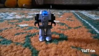 Как сделать мини робота из лего