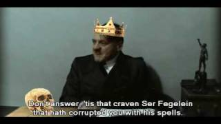 Hitler Parody: Adjusted For The Theatrically Inclined Audience