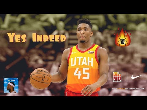 "Donovan Mitchell - ""Yes Indeed"" (Lil Baby/Drake) Rookie Mix"