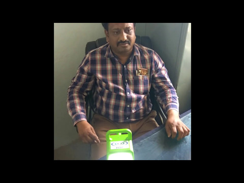 Testimonial of Civic Official, Nanded regarding Scitech Surya Project