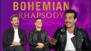 Frederico Mercurio trifft auf Freddie Mercury und Brian May - BOHEMIAN RHAPSODY Interview