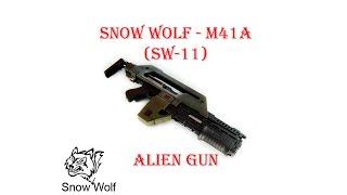 [ОБЗОР] SNOW WOLF - M41A ALIEN GUN SW-11 AEG airsoft (страйкбол)