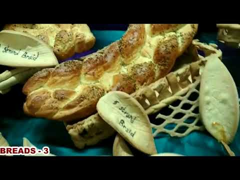 Bakery Courses@BRAIDED BREADS -3 - YouTube