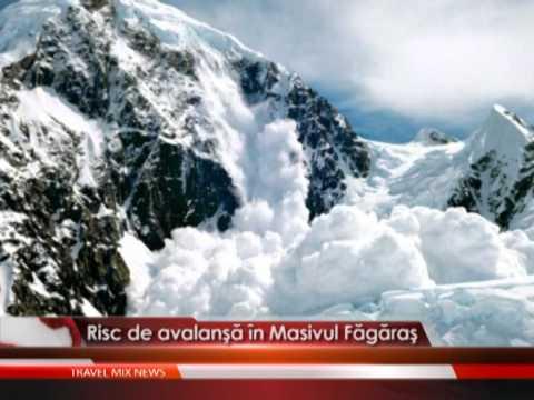 Risc de avalanşă în Masivul Făgăraş