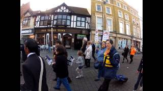 preview picture of video 'Pensions Demo Uxbridge 30 Nov 2011'