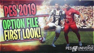 [TTB] PES 2019 - PES Universe Option File  First Look! - Teams, Leagues, Kits & More!