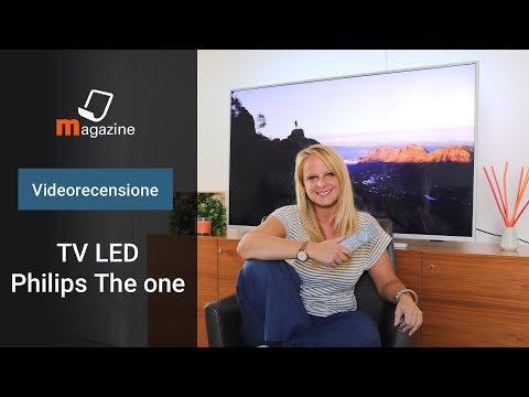 TV LED Philips The One 55PUS7304 Ambilight Ultra HD 4K: la recensione