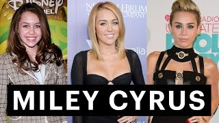 Miley Cyrus's Beauty Transformation From Hannah Montana to Wrecking Ball