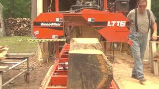 How many 2x6 does a man need? Big WP Log Woodmizer LT15 Part