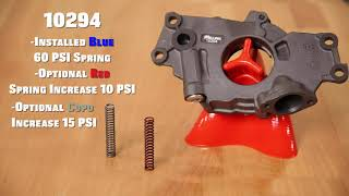 GM LS oil pump pressure relief spring selection from MELLING