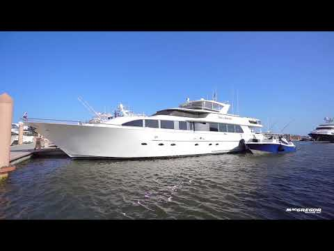 Westport Raised Pilothouse Motor Yacht video