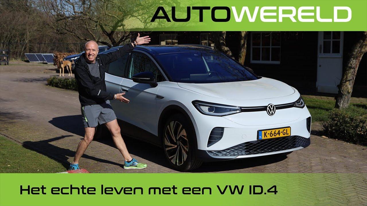 Hoe bevalt een week met de elektrische Volkswagen ID.4 (2021)? | Tom Coronel